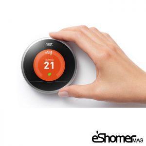 ترموستات هوشمند برای تنظیم دمای محیط و صرفه جویی در مصرف انرژی