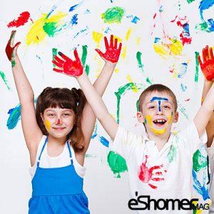 راز و رمزهای نقاشی های کودکان 6 – کمک به کودک دراولین تجربه نقاشی