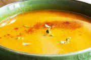 تهیه و پخت انواع غذاهای ایتالیایی سوپ کدو حلوایی