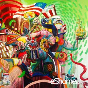 آشنایی با سبک های هنر مدرن – هنر انتزاعی Abestract Art