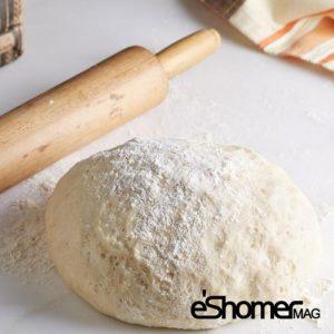 تهیه و پخت انواع غذاهای ایتالیایی – خمیر پیتزا