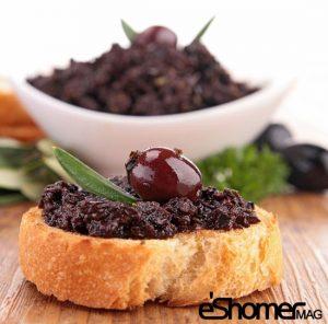 تهیه و پخت انواع غذاهای ایتالیایی – پاته زیتون سیاه