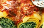 تهیه و پخت انواع غذاهای ایتالیایی _ پاستا کانلونی
