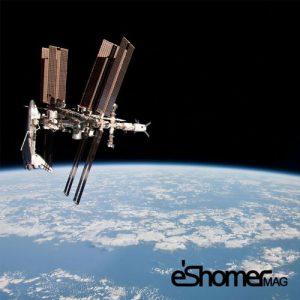 دیدن ایستگاه فضایی بین الملی بدون چشمان مسلح