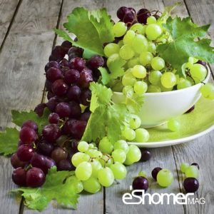 انگور و خواص ضد سرطانی آن در میوه درمانی