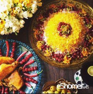 معرفی نحوه پخت مشهورترین غذاهای محلی سنتی ایران – آلبالو پلو با گوشت چرخ کرده و فیله مرغ