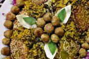 معرفی نحوه پخت مشهورترین غذاهای محلی سنتی ایران – کلم پلو شیرازی