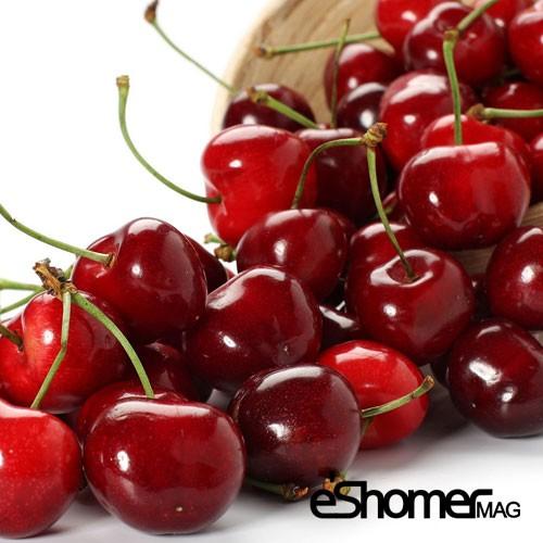 گیلاس و خواص ضد سرطانی آن در میوه درمانی