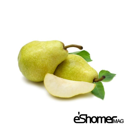 گلابی و خواص ضد سرطانی آن در میوه درمانی