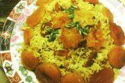 غذاهای ایرانی و غذاهای محلی _ قیسی پلو اردبیل