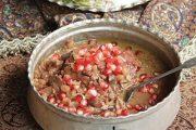 معرفی پخت مشهورترین غذاهای محلی سنتی ایرانی _ خورش انار مسما گیلان