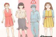 نحوه لباس پوشیدن صحیح در زنان – لباس مناسب برای فرمهای مختلف بدن 4