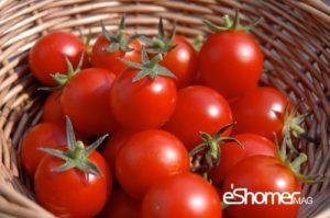 شناخت انواع سبزیجات و خواص درمانی آنها ، گوجه فرنگی