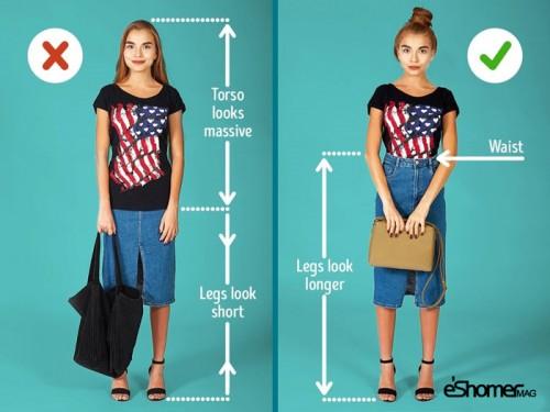 10 نکته ساده برای لاغرتر و بلند قد تر به نظر رسیدن