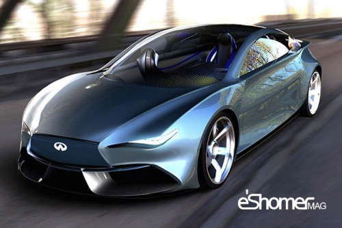نسل جدید و ارتقاءیافته نیسان لیف از کمپانی اینفینیتی خودروی برقی Q50