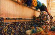 آشنایی با انواع رشته های هنرهای سنتی ایران ، قالیبافی