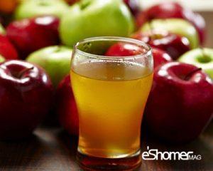 درمان ساده اسهال و استفراغ و کم آبی کودکان با آب سیب