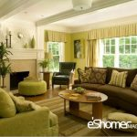 ویژگی های رنگ های عنصر چوب در فنگ شویی در طراحی داخلی