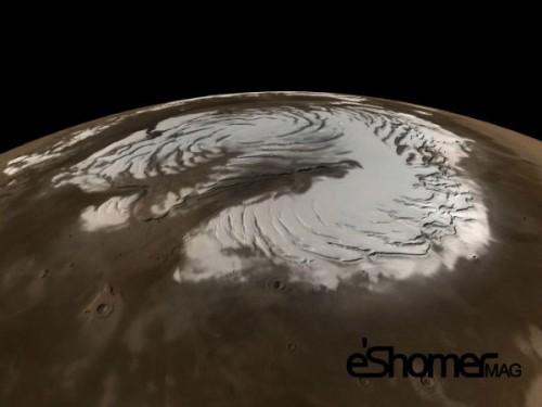 مجله خبری ایشومر شب-ها-آسمان-مریخ-برفی-می-شود شب ها آسمان مریخ برفی می شود تكنولوژي نوآوری  مریخ برفی آسمان