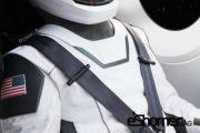 طراحی لباس فضانوردی کمپانی فضایی اسپیس اکس