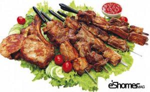 غذاهای محلی غذاهای ایرانی آموزش آشپزی کباب شیشلیک