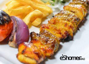 غذاهای محلی غذاهای ایرانی آموزش آشپزی کباب بختیاری