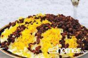 غذاهای محلی غذاهای ایرانی آموزش آشپزی کشمش پلو اردبیل