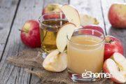 فواید آب سیب در درمان بیماری ها میوه درمانی