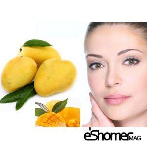 ماسک انبه پوست و زیبایی و درمان بیماری های پوستی