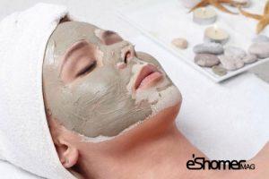 ماسک طبیعی گل رس چاق کننده و خوش فرم کننده صورت