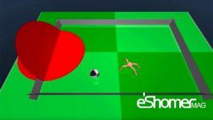 ساخت فوتبالیست با هوش مصنوعی توسط دیپ مایند گوگل
