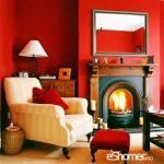 ویژگی های رنگ های عنصر آتش در فنگ شویی در طراحی داخلی