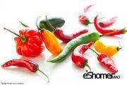 شناخت انواع سبزیجات ، خواص درمانی سبزیجات ، فلفل