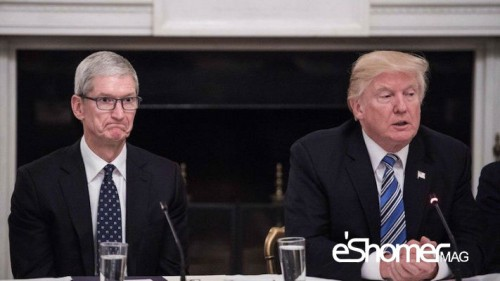 حمایت تیم کوک مدیر عامل کمپانی اپل از کارمندان مهاجر
