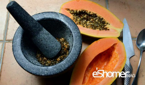 درمان خانگی بیماری کبد چرب با مواد طبیعی ، پاپایا