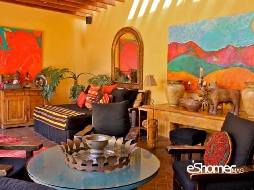 مجله خبری ایشومر راهکارهای-رنگ-نارنجی-طراحی-داخلی-مجله-خبری-ایشومر-2 راهکارهای استفاده از انواع رنگ نارنجی در طراحی داخلی هنر هنر و معماری طراحی داخلی رنگ نارنجی رنگ در طراحی داخلی