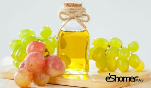 روغن هسته انگور ، در خواص درمانی انواع روغن ها