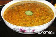 غذاهای محلی غذاهای ایرانی آموزش آشپزی ، آش آب غوره همدان
