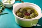 غذاهای محلی غذاهای ایرانی آموزش آشپزی ، آش کوفته سبزی شیراز