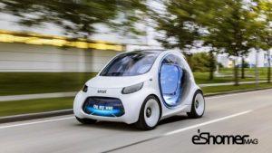 نسل جدید اسمارت فورتو به عنوان اولین وسیله نقلیه دایملر
