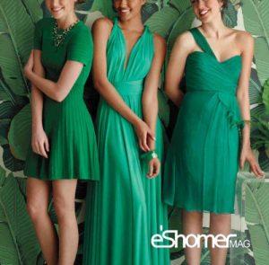 اثرات روانی رنگها در طراحی مد و لباس، رنگ یشمی