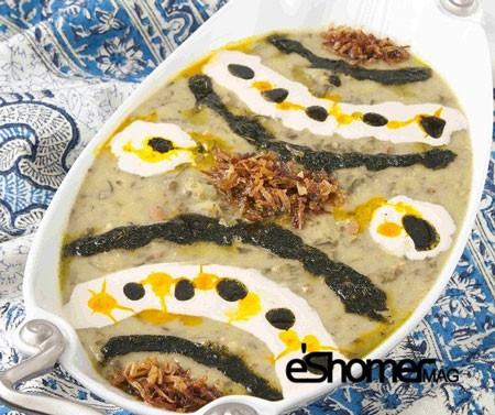 غذاهای محلی غذاهای ایرانی آموزش آشپزی ، آش خیار ملایر