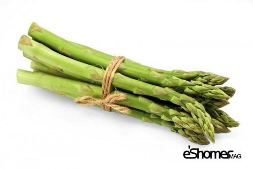 شناخت انواع سبزیجات ، خواص درمانی سبزیجات ، مارچوبه