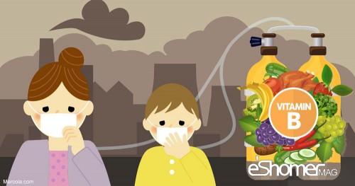 نقش ویتامینB6 ( ویتامین ب6 ) در محافظت بدن در مقابل آلودگی هوا