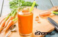 آب هویج و مزایای شگفت انگیز این آبمیوه در میوه درمانی