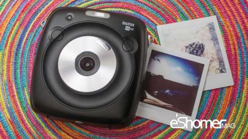 جدیدترین دوربین Instax SQ10 فوجی فیلم و دریافت نمونه کاغذی
