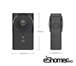 دوربین YI360 VR امکان چرخیدن 360 درجه در ویدیو با کیفیت بالا