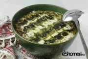 غذاهای محلی غذاهای ایرانی آموزش آشپزی ، آش اسفناج و عدس