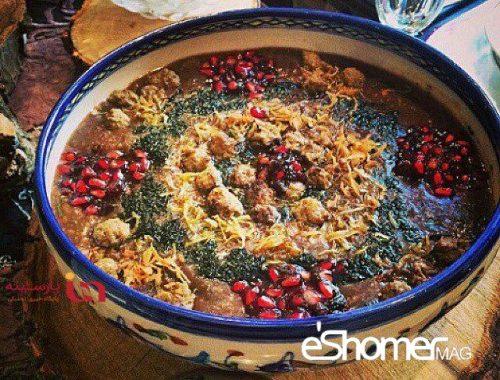 غذاهای محلی غذاهای ایرانی آموزش آشپزی ، آش زمستانی