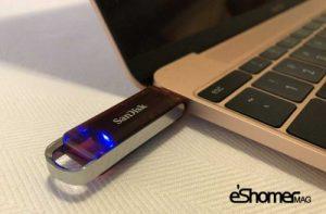 کوچکترین فلش درایو 1 ترابایت برند San Disk در جهان
